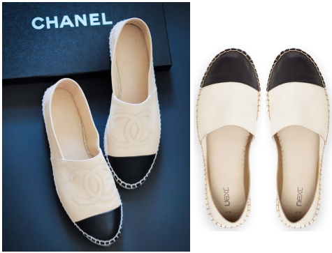 <u>catwalk to closet…<br/>CHANEL v NEXT</u>