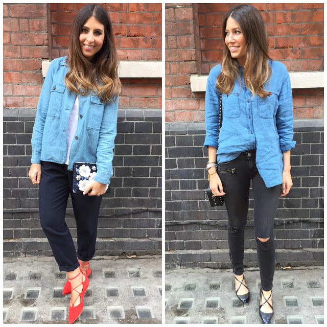 <u>friday style…<br/>DENIM SHIRTS</u>