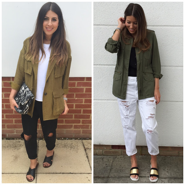 <u>we love…<br/>KHAKI COMBOS</u>