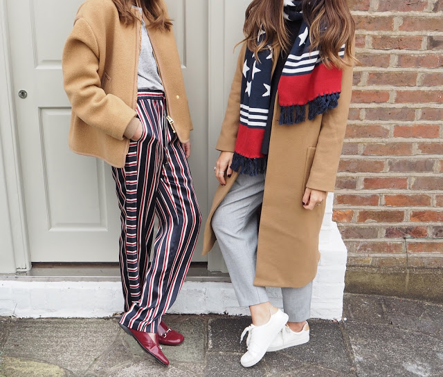 <u>sunday style…<br/>STARS & STRIPES</u>