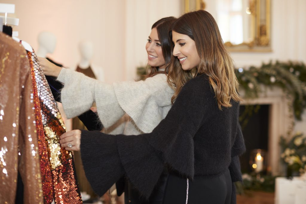 GETTING DRESSED UP & FESTIVE AT THE OUTNET TOWNHOUSE