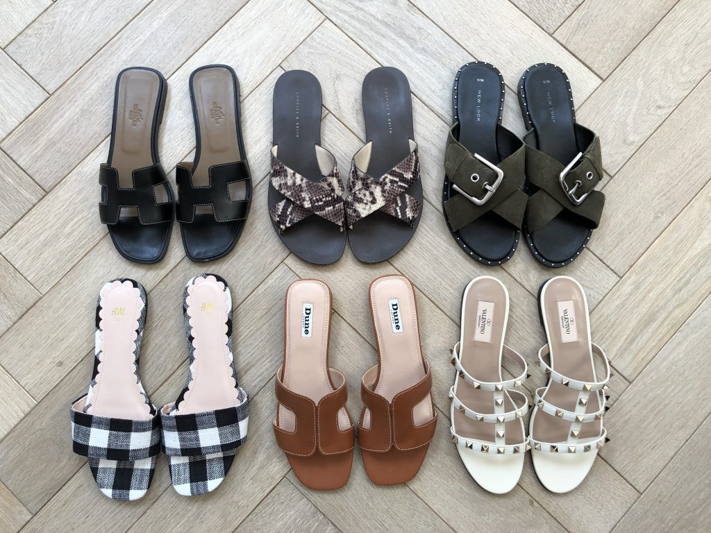 THE SUMMER SANDAL EDIT