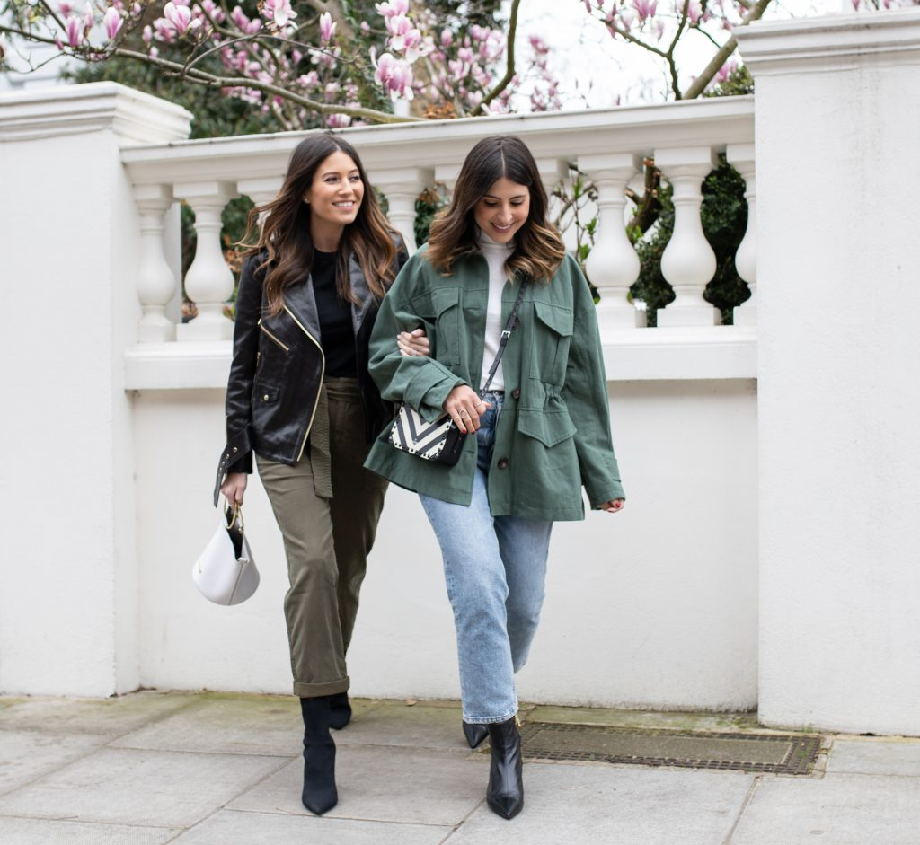 STEPPING INTO SPRING WITH KHAKI