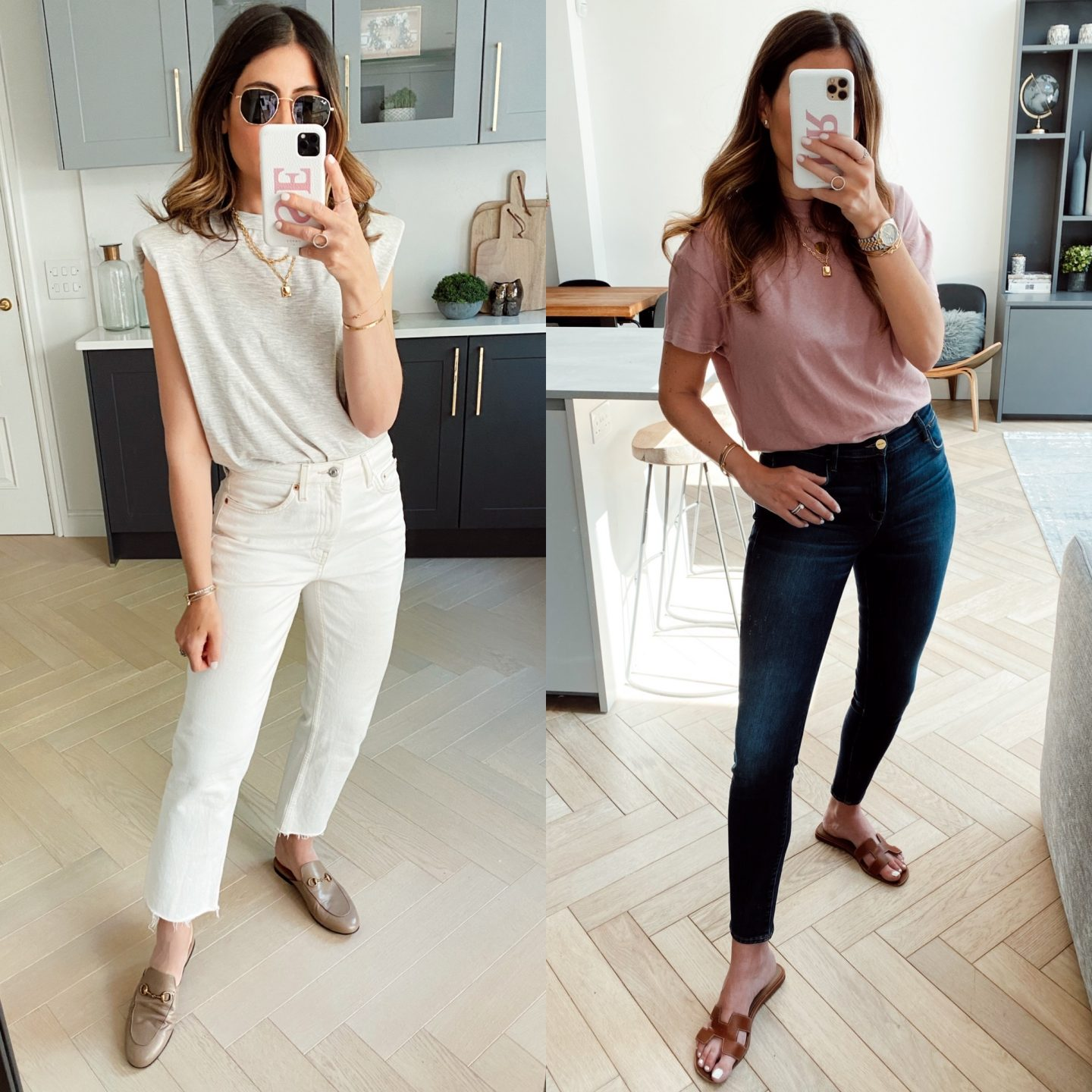 JEANS & A TEE STYLED 6 WAYS