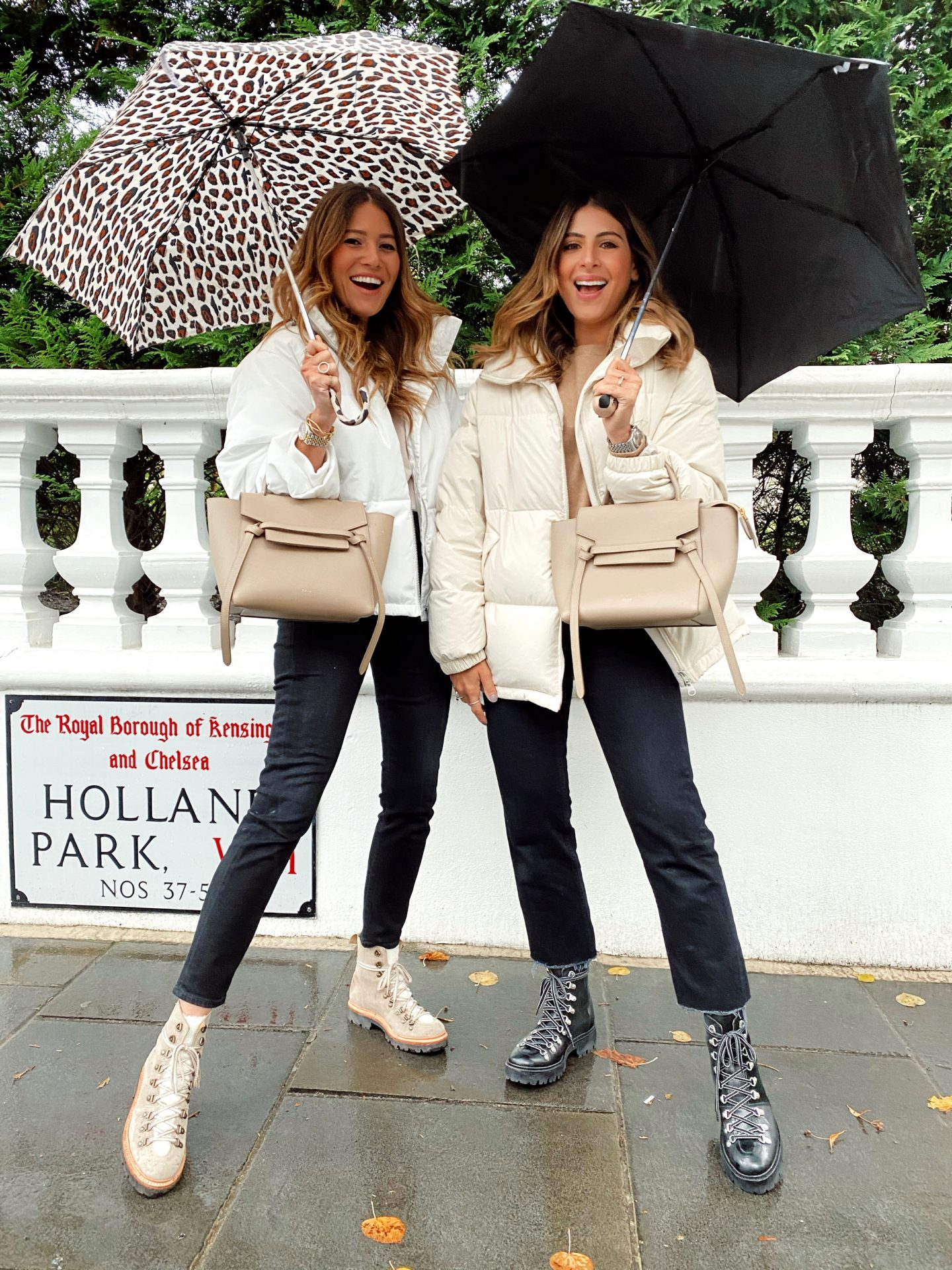 STAY DRY LOOK CHIC!
